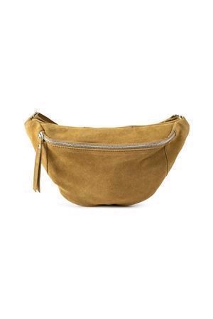 Re:designed Mette Suede Bag Mustard
