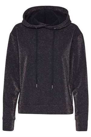Soaked in Luxury Alexa Hoodie LS Black W Cobber