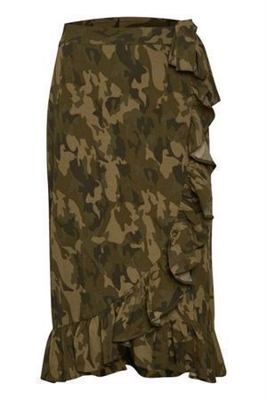 Soaked in Luxury Sx Lamo Camo Skirt