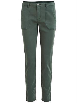 VILA ViAmy 7/8 Front Pocket Pant Garden Topiary