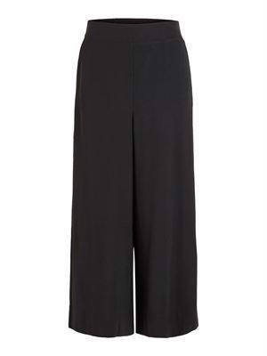 VILA ViEsther NW Wide Crop Pant Black