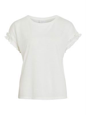 VILA ViHaldis S/S T-Shirt Cloud Dancer