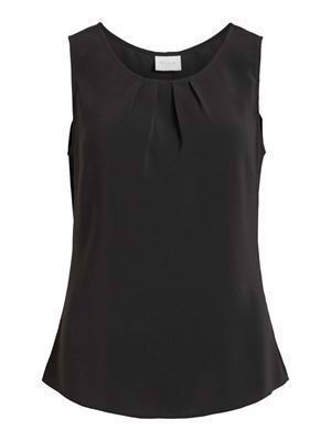 VILA ViLaia S/L Top - Noos - Black