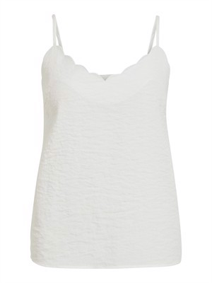 VILA ViLinea Singlet Cloud Dancer