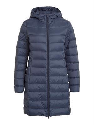VILA ViManya Light Down Long Jacket Total Eclipse