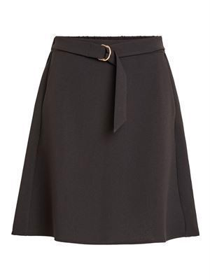 VILA ViMicca Belt Skirt Black