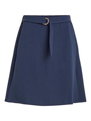 VILA ViMicca Belt Skirt Navy Blazer