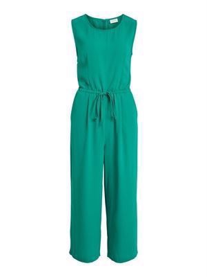 VILA ViMirenza S/L Jumpsuit Pepper Green