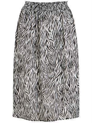 VILA ViNema Zeena HW Midi Skirt Cloud Dancer
