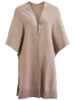 VILA ViOlivena Knit Cape Natural Me