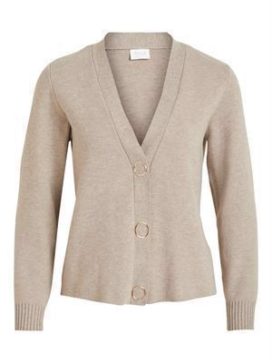 VILA ViOlivena Knit V-Neck L/S Cardigan
