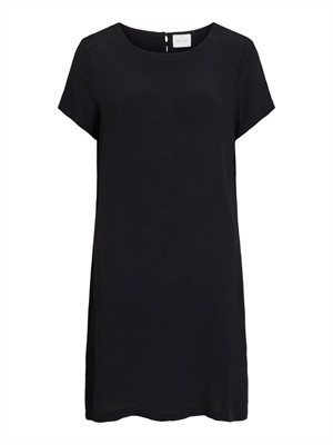 VILA ViPrimera S/S Dress - Noos - Black