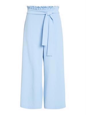 VILA ViRasha HW Cropped Pant Powder Blue