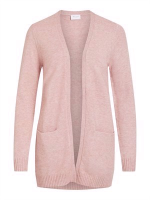 VILA ViRil L/S Open Knit Cardigan - Noos - Pale Mauve