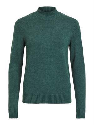 VILA ViRil L/S Turtleneck Knit Top Noos Pine Grove
