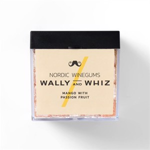 Wally and Whiz Mango with Passion Fruit