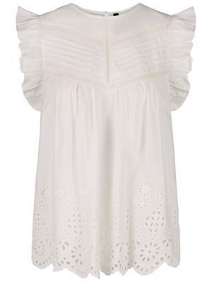 YAS Charis SS Top Star White